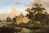 Bartholomeus van Hove, View of a Dutch City