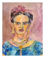 Frida Kahlo (with border)