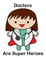 Doctors Are Super Heros Female