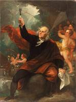 Benjamin Franklin Drawing Electricity from the Sky