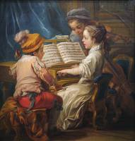 Carle Vanloo, artist French, 1705 - 1765 Music, 17