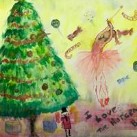 I Love The Nutcracker Ballet! Art Prints & Posters by MARIE LOH