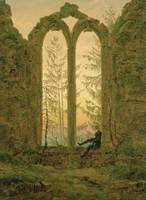 CASPAR DAVID FRIEDRICH (1774 -  1840), RUINS OF TH