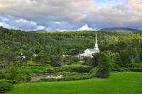Stowe Vermont Summer Evening