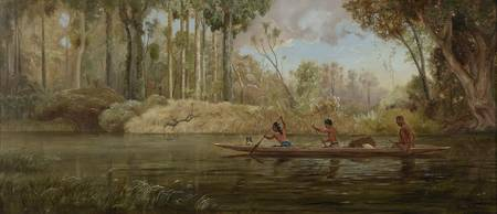 Early Spring; or, A Narrow of the Waikato River, 1