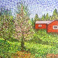 Quick Blossoms New Grass Art Prints & Posters by Alan Hogan