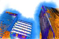 Abstract Towers by Kirt Tisdale