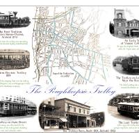 The Poughkeepsie Trolley Art Prints & Posters by Joseph Bennecelli