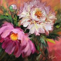 Pink Fairy Dust Peonies