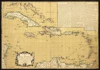 Map of the West Indies (1782)
