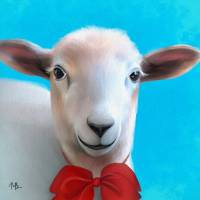 """little sheep"" by tammyleebradley"