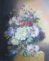 Floral Still Life Painting Bloemers