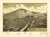 Aerial View of Delhi, New York (1887)