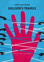 No967 My Gullivers Travels minimal movie poster
