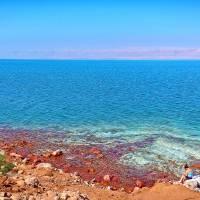 dead sea in jordan Art Prints & Posters by maeen waleed