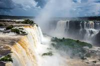 iguazu falls national park.