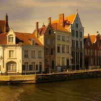 Bruges Panorama Art Prints & Posters by Ann Garrett