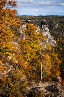 Autumn in Saxon Switzerland