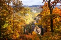 Autumn Splendor. Saxon Switzerland