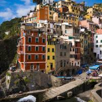 Riomaggiore Afternoon Art Prints & Posters by Rae Tucker