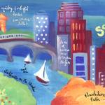 Scenic Boston, Massachusetts by Jessica Flannery Prints & Posters