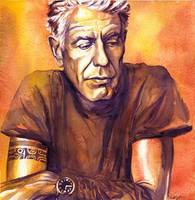 Orange Anthony Bourdain