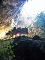 Temple in a cave