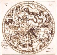 Unknown Celestial Map of the Southern Hemisphere,