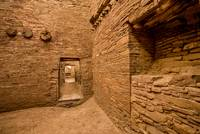 Chaco Canyon Pueblo Bonito Doorway - New Mexico
