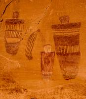 Horseshoe Canyon Great Gallery Pictographs