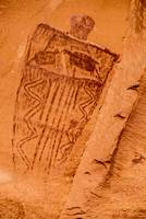 Horseshoe Canyon Great Gallery Figure - Utah