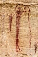 Buckhorn Wash Pictographs - San Rafael Swell