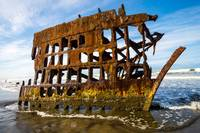 Peter Iredale Shipreck - Fort Stevens - Oregon