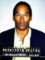 OJ Simpson Mug Shot 1994 Vertical Color PAINTING