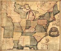 Map of the United States, East Coast (1842)