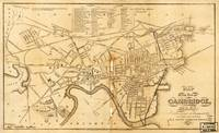 Map of Cambridge, Massachusetts (1857)