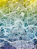Rotterdam Netherlands City Map