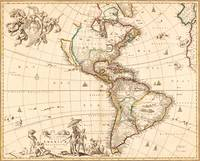 Map of North and South America (1660)