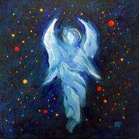 Angel Of Grace Art Prints & Posters by Marina Petro