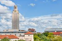 UT Tower with Stadium