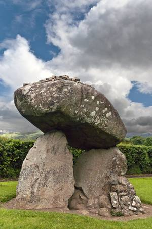 Proleek Dolmen III - northwest view