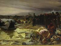 In 1879 the great flood in Szeged by Ferenc Somorj