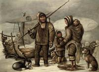 James E. Bourhill (19th Century) Inuit family ,Pai