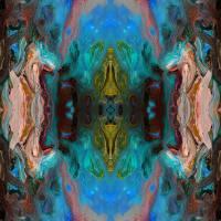 I Am The Door John 10 Blue Art Prints & Posters by RUTH PALMER