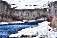 WINTER DAY ON THE GUNNISON RIVER