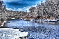 GUNNISON RIVER WINTER DISPLAY