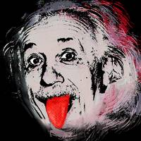 Albert Einstein and Tongue