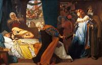 Lord Frederic Leighton - The Feigned Death of Juli