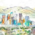 Los Angeles California Mount San Antonio by RD Riccoboni