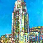 Los Angeles California City Hall by RD Riccoboni